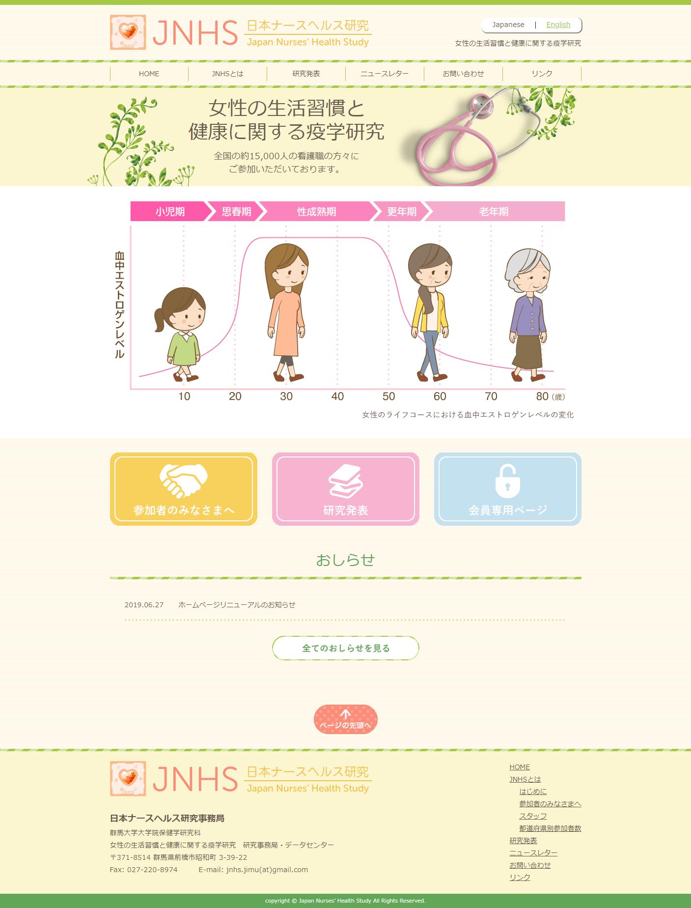 日本ナースヘルス研究